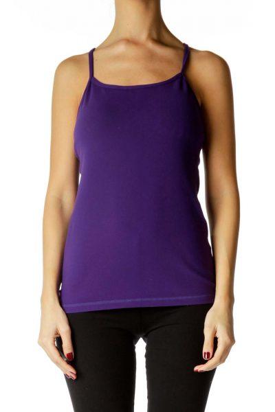 Purple Yoga Top