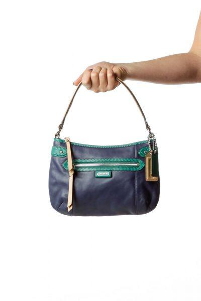 Blue Green Shoulder Bag
