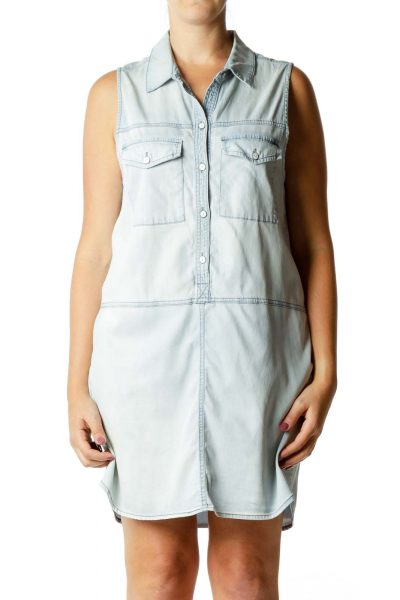 Blue Denim Day Dress