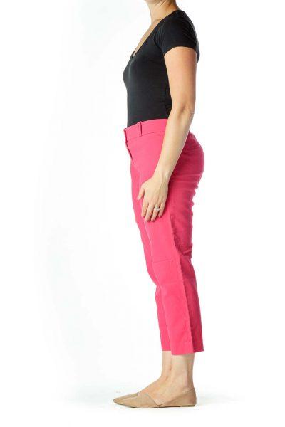 Pink Slim Pants