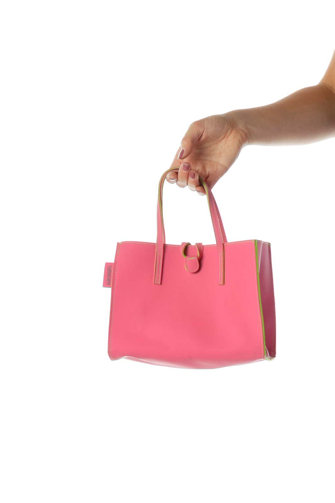 Pink Green Mini Tote