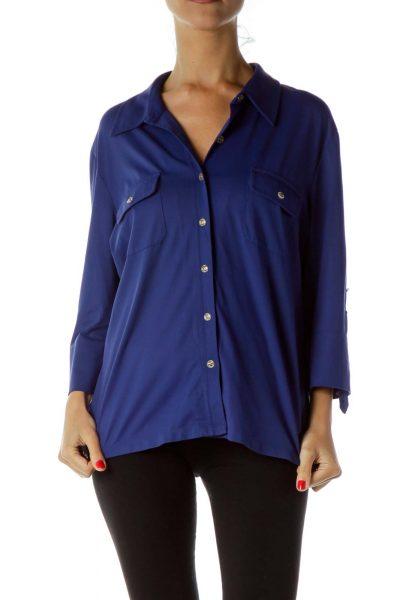 Blue Buttoned Shirt