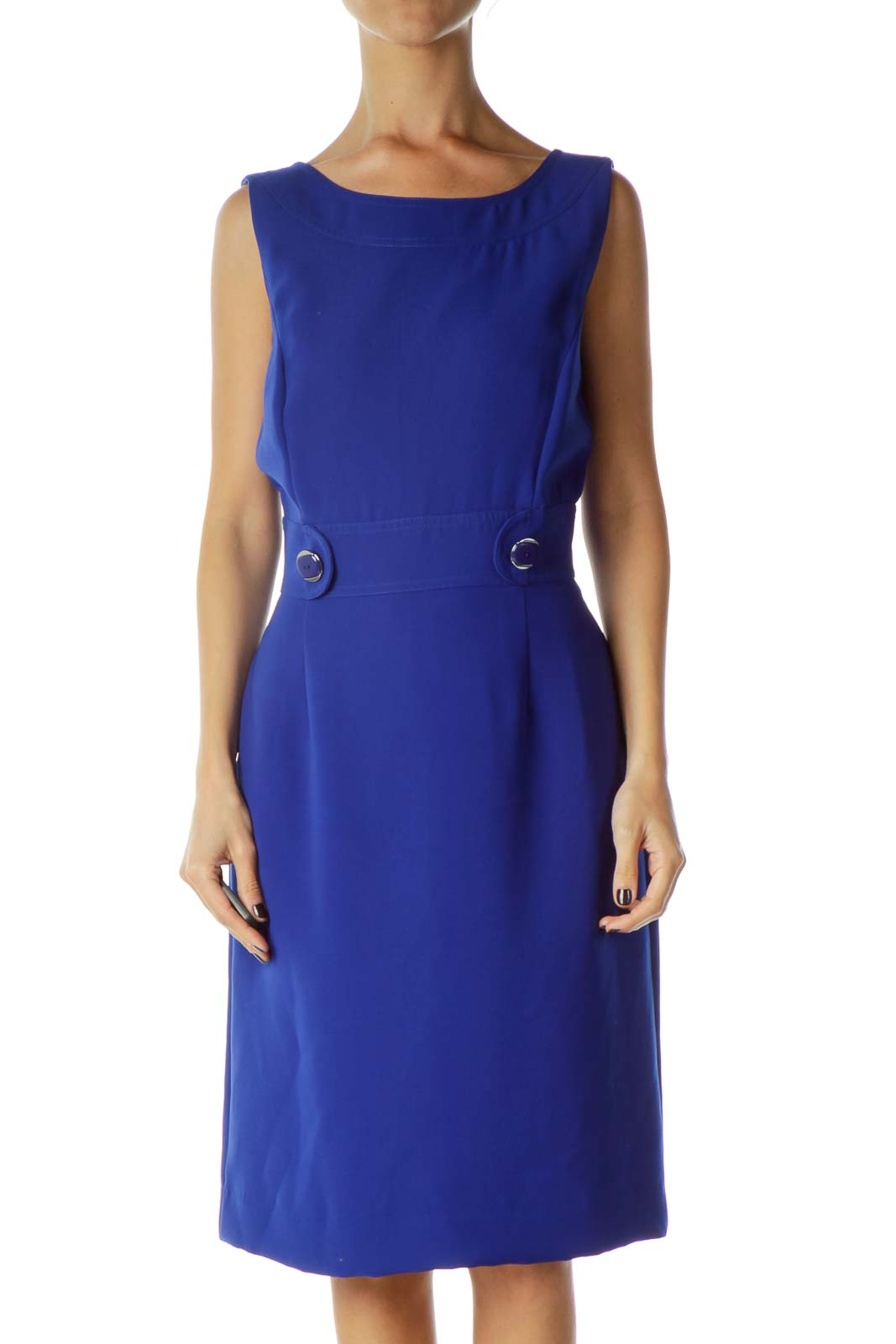 Royal Blue Sheeth Dress
