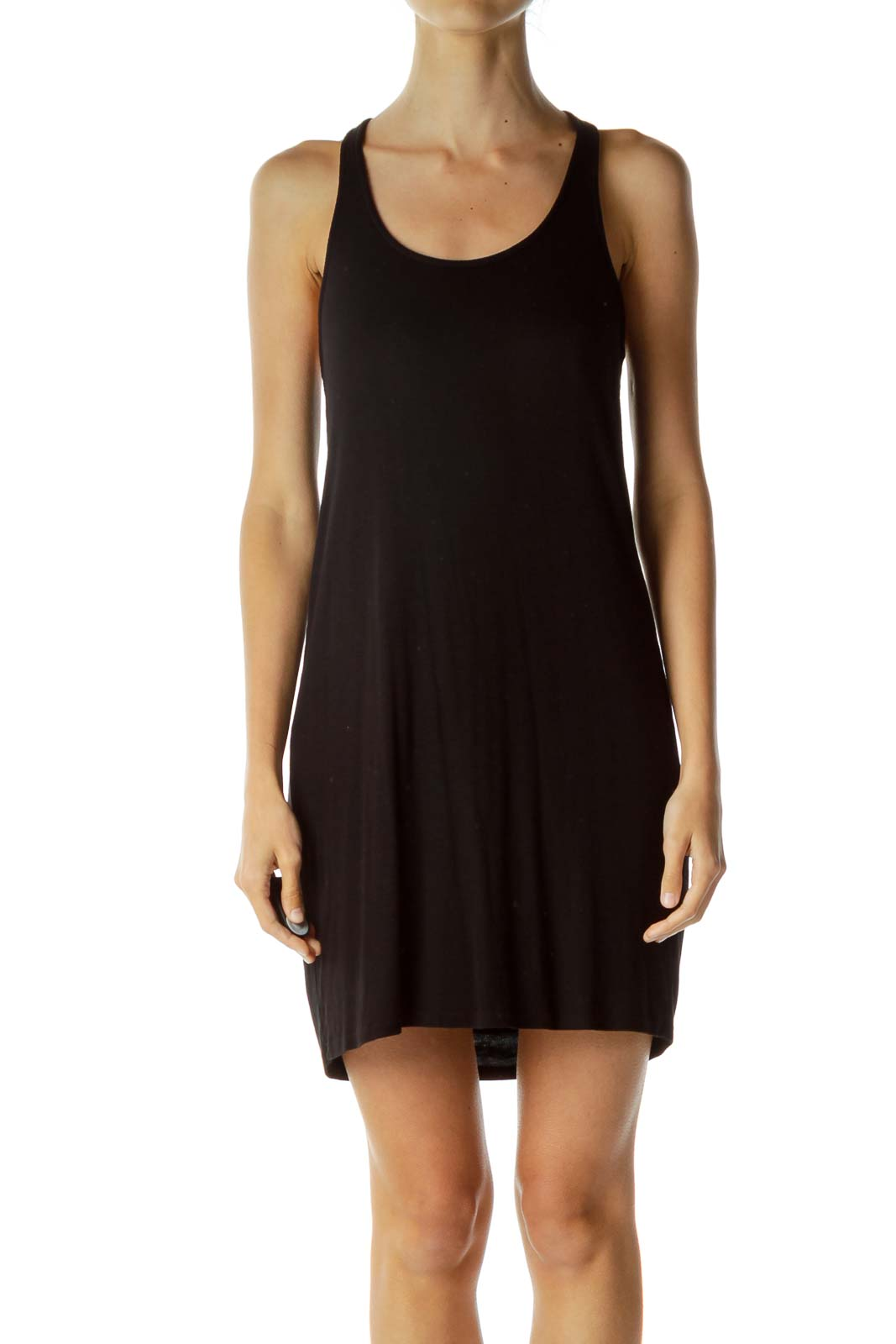 Black Racerback Day Dress