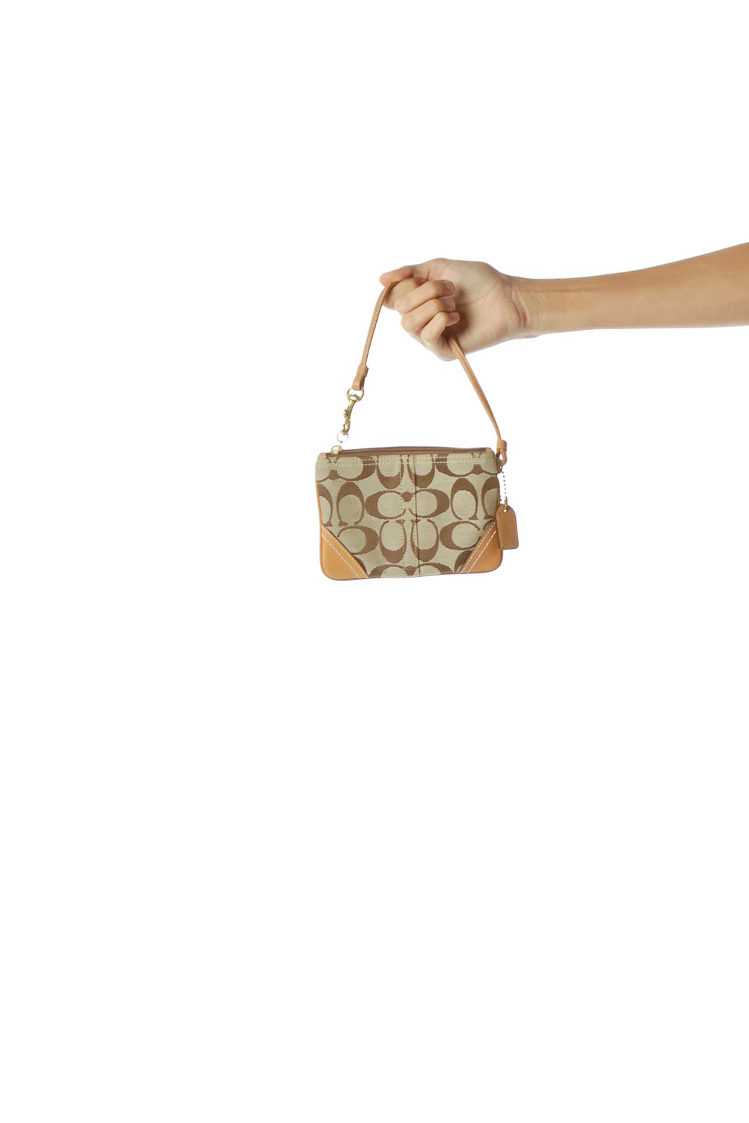 Light Brown Small Clutch
