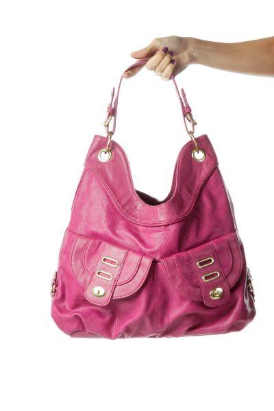 Magenta Shoulder Bag