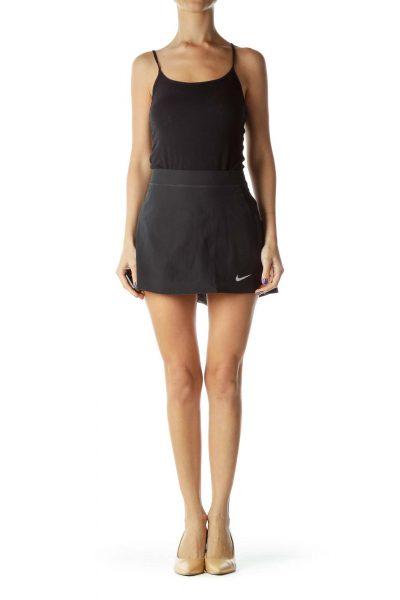 Black Athletic Skirt