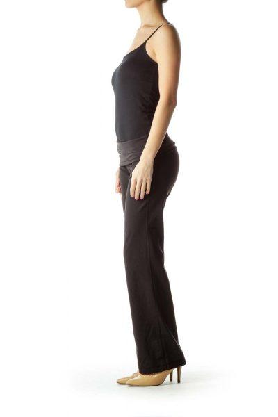 Black Flared Yoga Pants