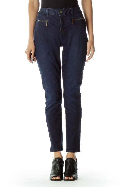 Navy Skinny Jeans