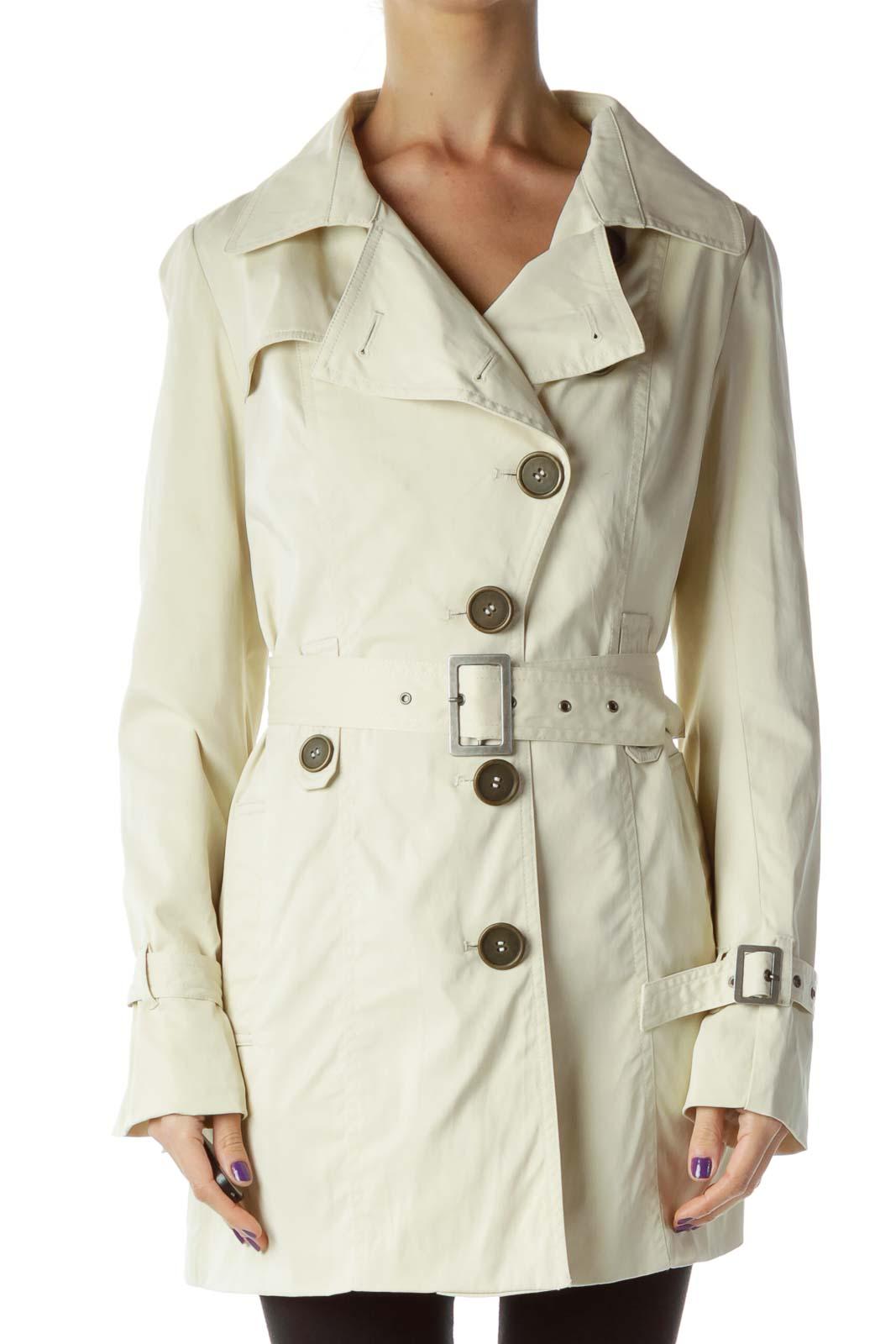 Beige Trench Coat