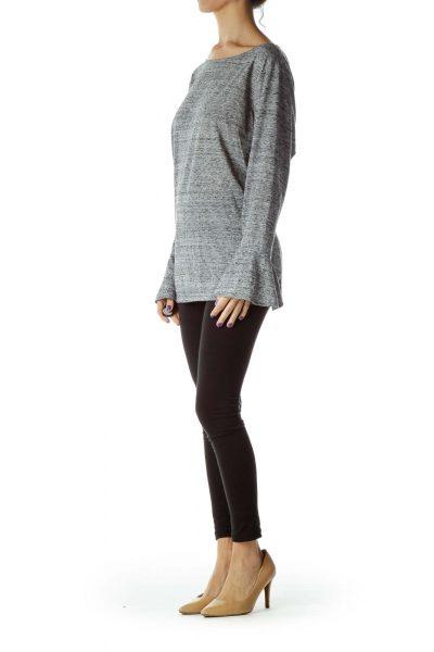 Grey Mottled Sweatshirts