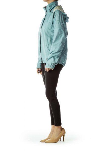 Blue Rain Coat