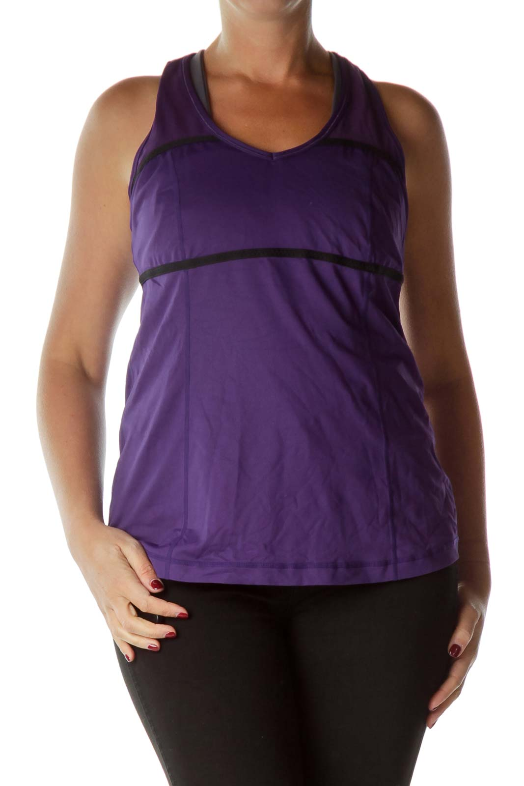 Purple Yoga Tank