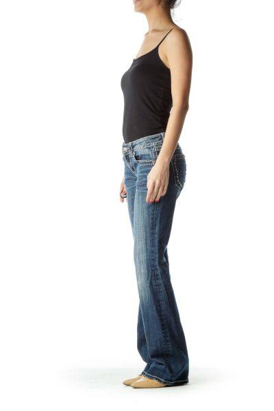 Embellished Flared Jean