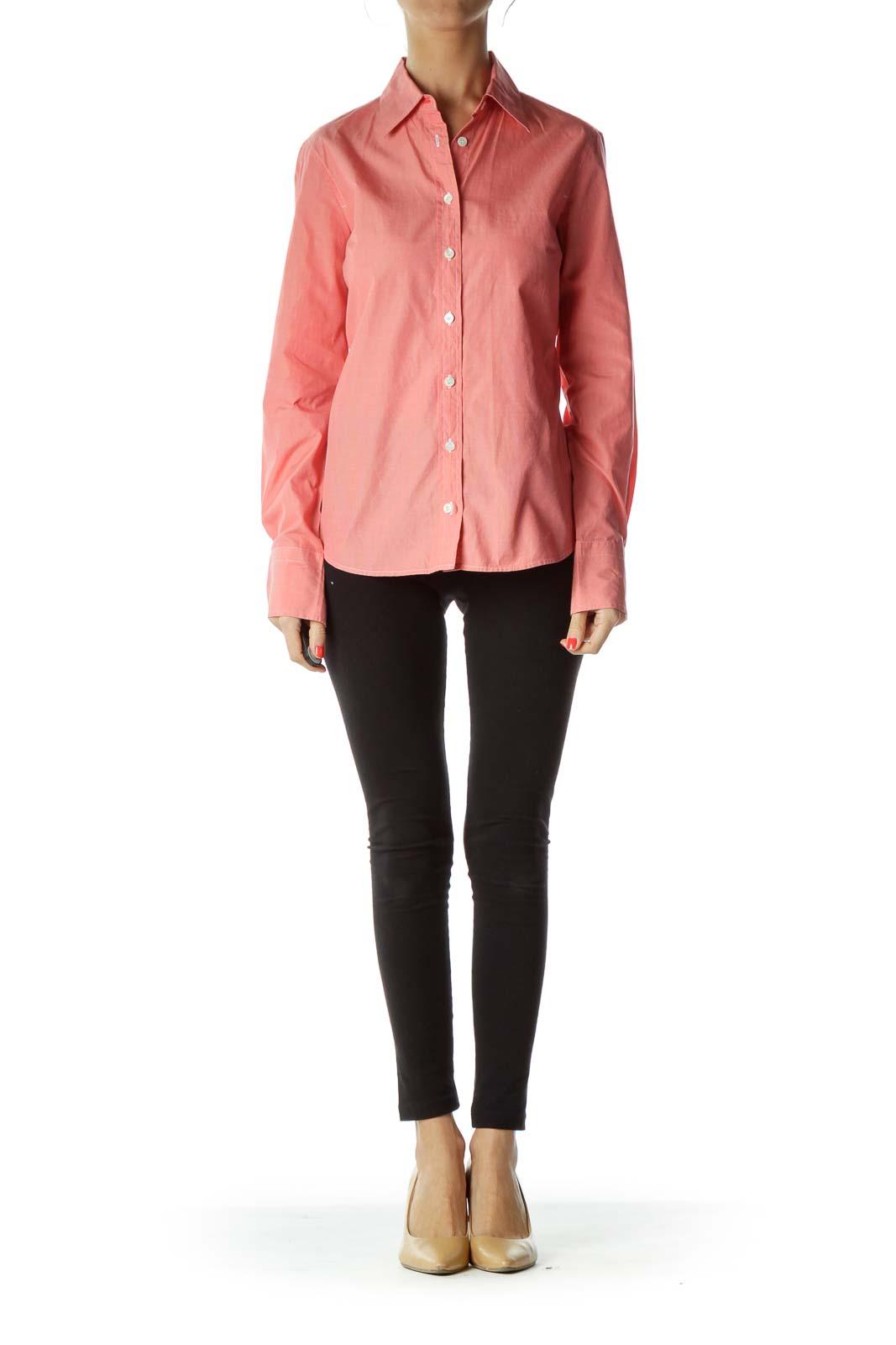 Pink Button-up Shirt