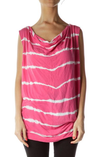Pink Tie Dye Tank