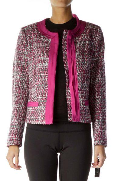 Pink Tweed Jacket