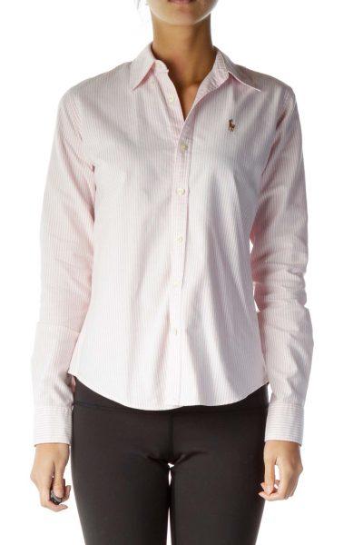 Pink Pinstripe Shirt