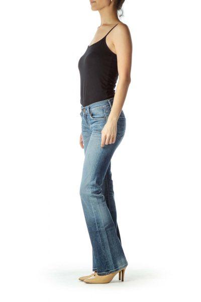 Light Blue Flared Jean