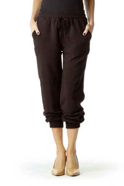 Black Soft Tapered Pant