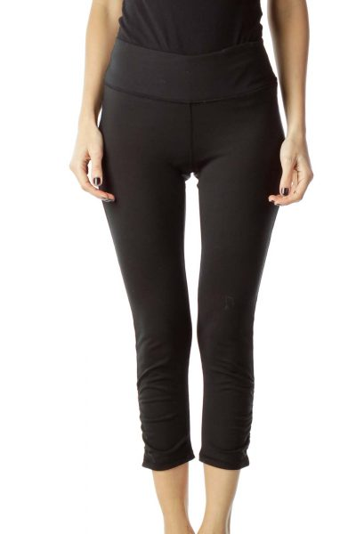 Black Capri Yoga Pant