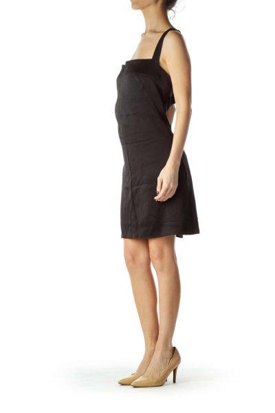 Black Bandage Wrap Cocktail Dress w/ bra inside