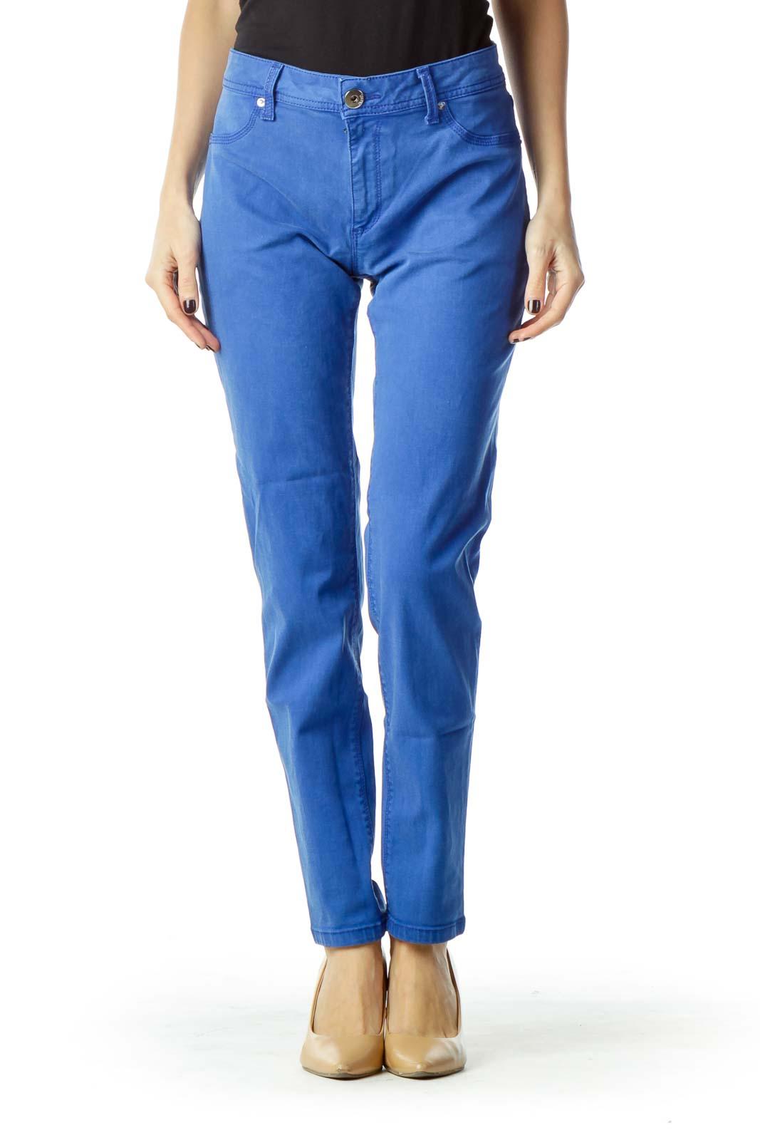 Royal Blue Skinny Jean