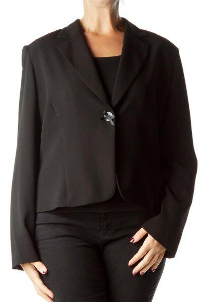 Black Soft Suit Jacket