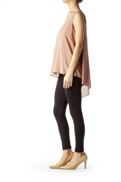 Pink Cami with Cape Back