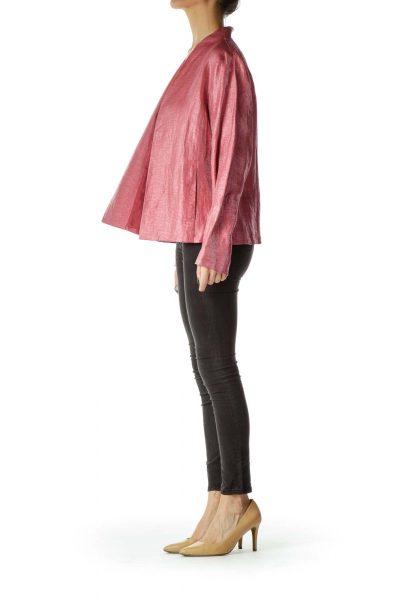 Pink Shiny Blazer