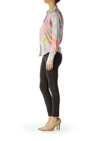 Multicolor Print Shirt