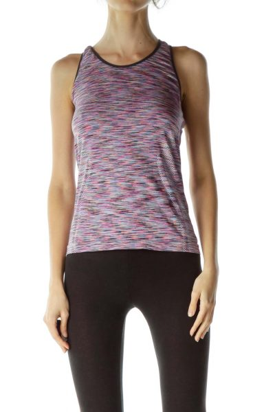 Multicolor Sports Top