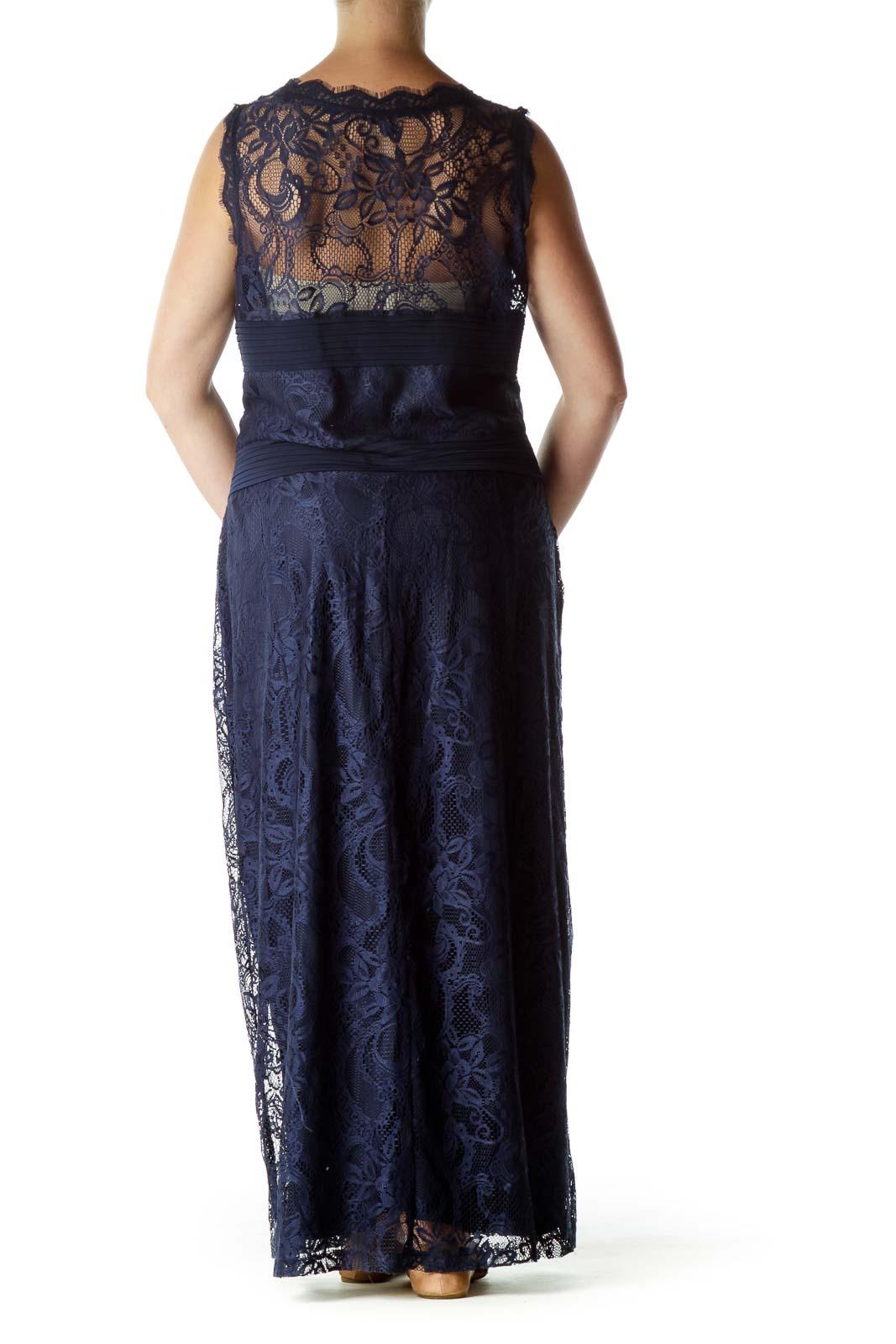 5679dc7d82 Wristwatch by Versace. Next. Candalite Women s. Navy Lace Sleeveless Maxi  Dress