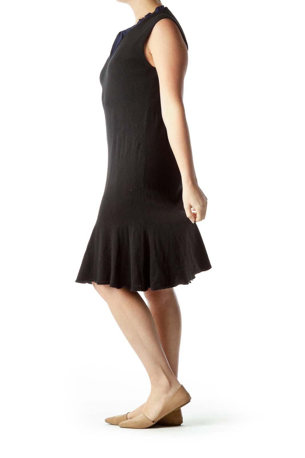 Black Cashmere Sweater Dress