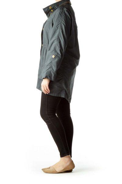Gray Rain Coat