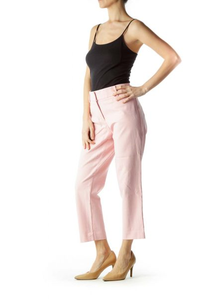 Pink 7/8 Cropped Pants
