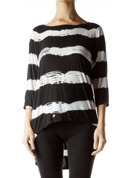 Black High Low T Shirt