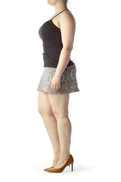 Brown Sport Skirt