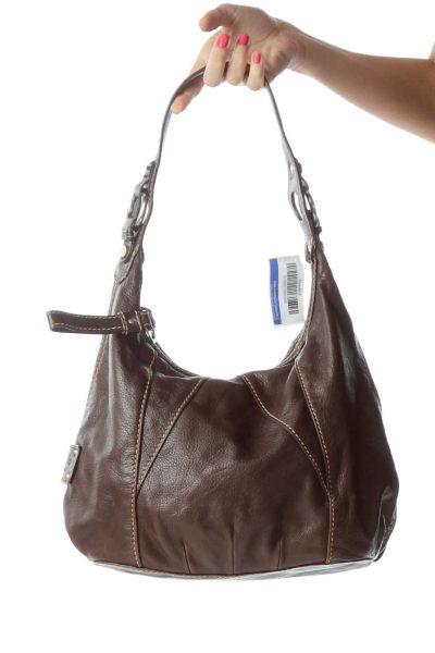 Brown Hobo Leather Bag