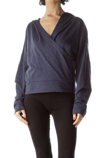 Navy Active Loop Back Fleece