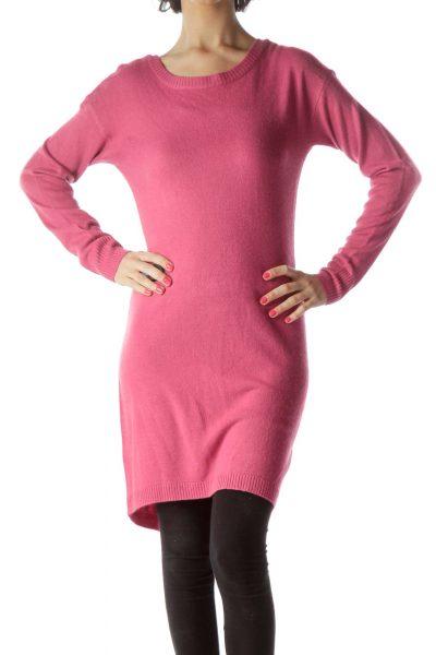 Pink Knit Tunic
